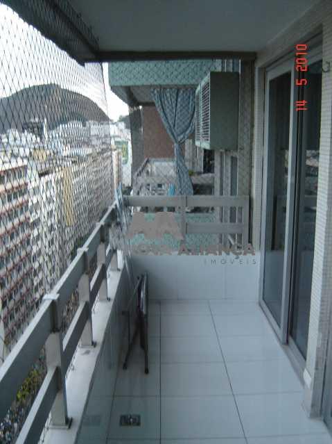 Varanda3 - Flat à venda Rua Barata Ribeiro,Copacabana, Rio de Janeiro - R$ 693.000 - NCFL10042 - 1