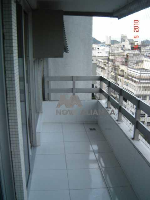 Varanda4 - Flat à venda Rua Barata Ribeiro,Copacabana, Rio de Janeiro - R$ 693.000 - NCFL10042 - 4