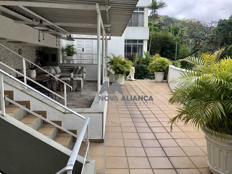12E5326C-6598-461C-8AB1-C372E5 - Casa à venda Rua Cosme Velho,Cosme Velho, Rio de Janeiro - R$ 6.500.000 - NSCA40005 - 1