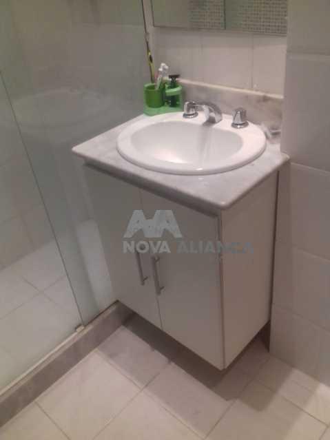 BANHEIRO - Apartamento à venda Rua Cândido Mendes,Glória, Rio de Janeiro - R$ 360.000 - NBAP10724 - 16