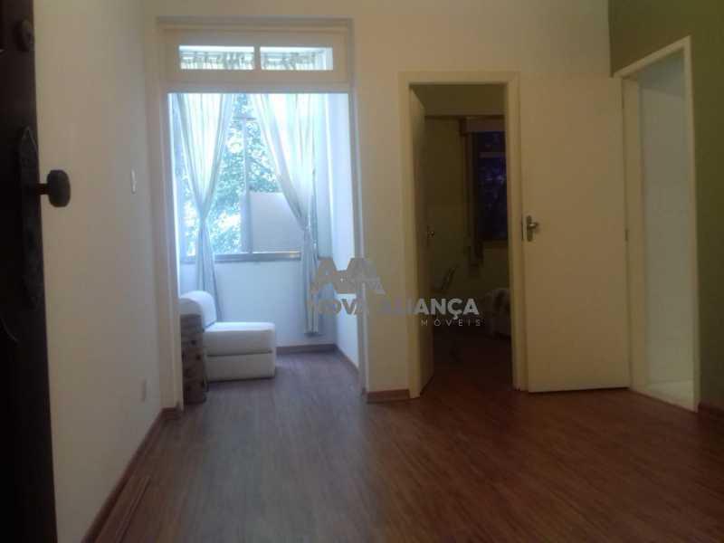 SALA 1 - Apartamento à venda Rua Cândido Mendes,Glória, Rio de Janeiro - R$ 360.000 - NBAP10724 - 1