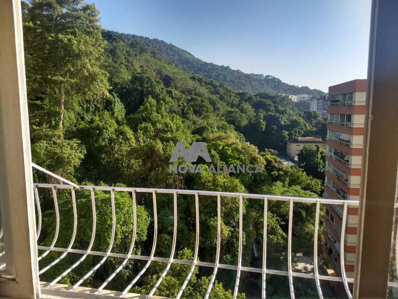 6. - Apartamento à venda Rua das Laranjeiras,Laranjeiras, Rio de Janeiro - R$ 315.000 - NBAP00424 - 1