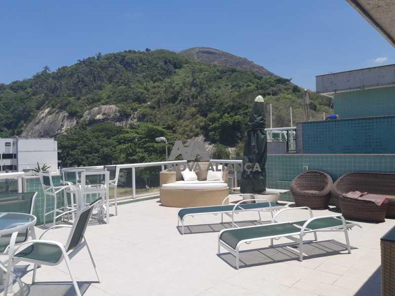 999754b5-cbb4-4f7f-b6eb-063e09 - Cobertura à venda Estrada do Pontal,Recreio dos Bandeirantes, Rio de Janeiro - R$ 1.650.000 - NSCO20031 - 22