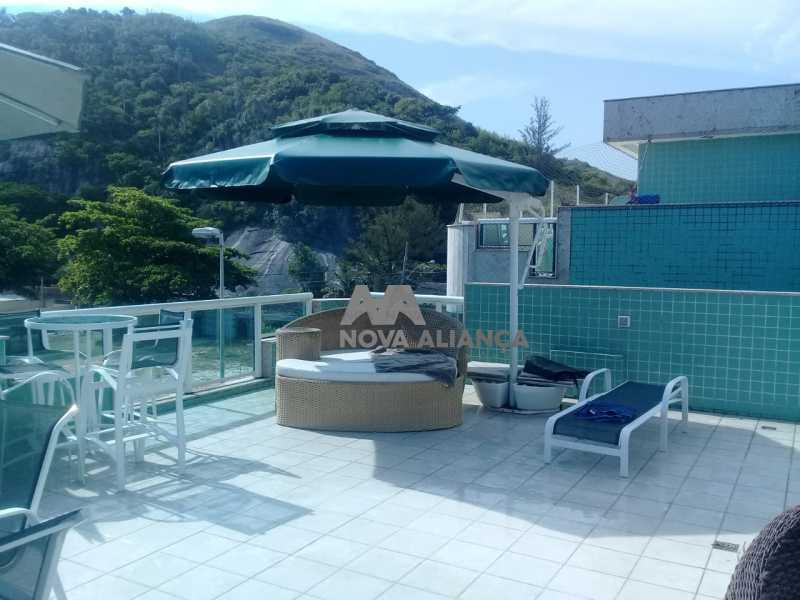 d42e4a5a-5653-46fa-8508-3c61e5 - Cobertura à venda Estrada do Pontal,Recreio dos Bandeirantes, Rio de Janeiro - R$ 1.650.000 - NSCO20031 - 6