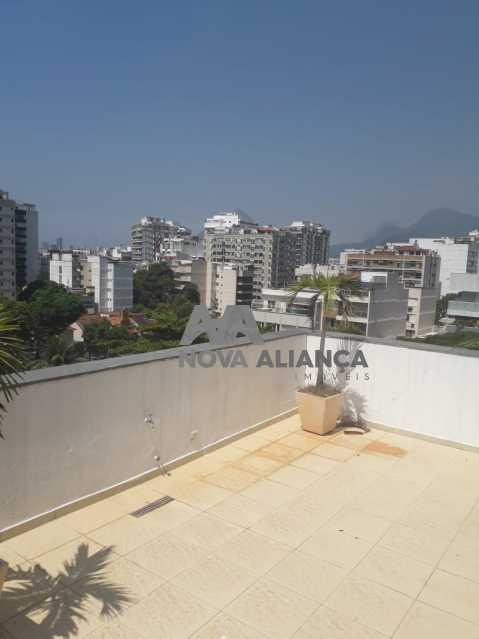 7O87P - Cobertura à venda Rua Professor Saldanha,Lagoa, Rio de Janeiro - R$ 2.580.000 - NBCO30159 - 3