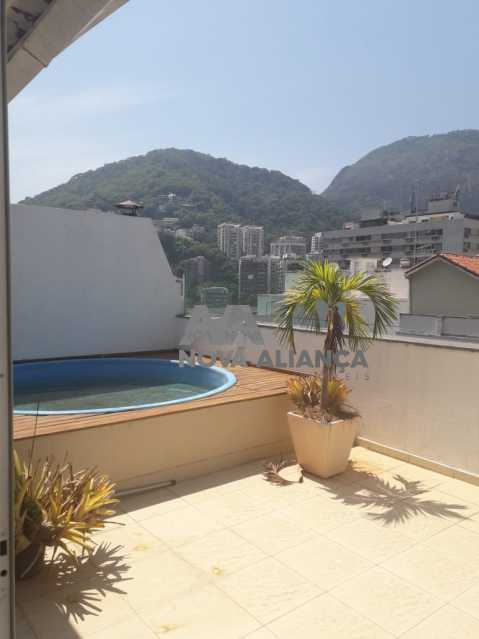 EREERR - Cobertura à venda Rua Professor Saldanha,Lagoa, Rio de Janeiro - R$ 2.580.000 - NBCO30159 - 1