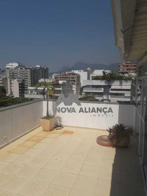 I8O8I6 - Cobertura à venda Rua Professor Saldanha,Lagoa, Rio de Janeiro - R$ 2.580.000 - NBCO30159 - 6