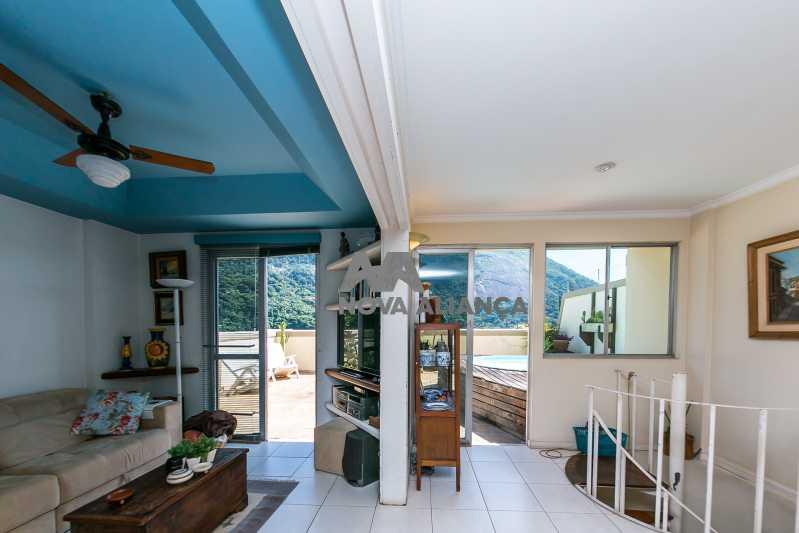 _MG_8500 - Cobertura à venda Rua Desembargador Burle,Humaitá, Rio de Janeiro - R$ 2.150.000 - NBCO40073 - 9