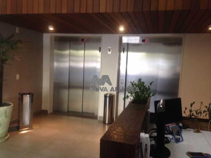 PORTARIA - Sala Comercial 43m² à venda Estrada da Gávea,Gávea, Rio de Janeiro - R$ 400.000 - NFSL00141 - 10