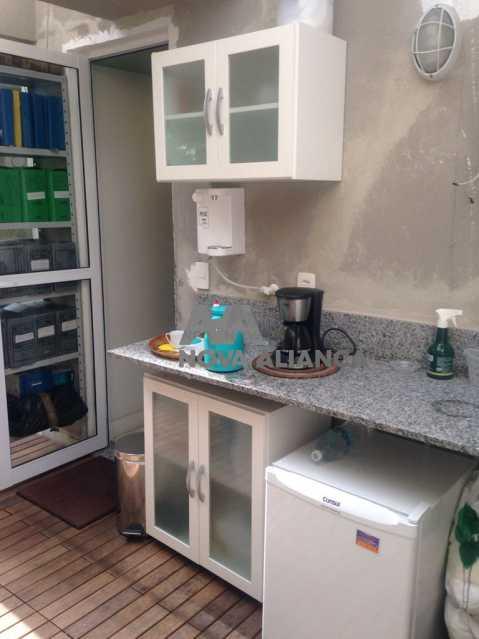 COPA / COZINHA - Sala Comercial 43m² à venda Estrada da Gávea,Gávea, Rio de Janeiro - R$ 400.000 - NFSL00141 - 8
