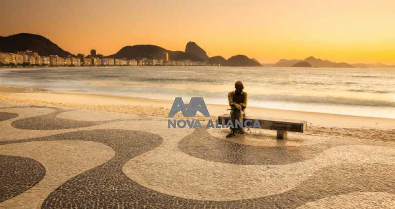 estatua-drummond - Apartamento à venda Rua Joaquim Nabuco,Copacabana, Rio de Janeiro - R$ 1.785.000 - NSAP31115 - 20
