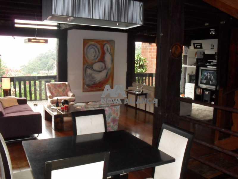 SAM_0424 1 - Casa à venda Rua Conselheiro Lampreia,Cosme Velho, Rio de Janeiro - R$ 1.300.000 - NFCA30028 - 13