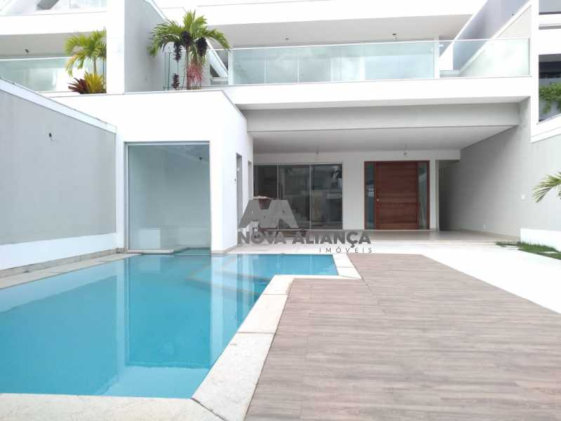 9924af47-0ece-4b1d-b799-dd1646 - Casa em Condomínio à venda Rua Ênio Silveira,Barra da Tijuca, Rio de Janeiro - R$ 3.200.000 - NICN50007 - 1