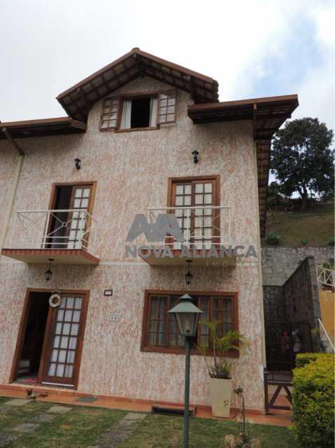 WhatsApp Image 2019-06-10 at 1 - Casa em Condomínio 4 quartos à venda Parque do Ingá, Teresópolis - R$ 750.000 - NICN40017 - 1