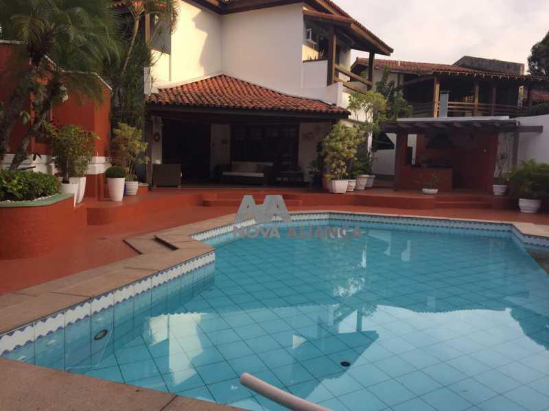 d26efabb-dfe7-4039-b972-af942e - Casa em Condomínio à venda Rua Engenheiro Habib Gebara,Barra da Tijuca, Rio de Janeiro - R$ 5.775.000 - NSCN50002 - 1