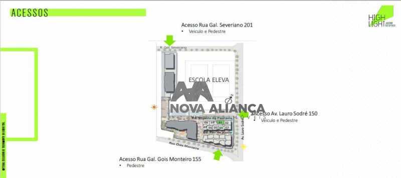 13 - Apartamento à venda Avenida Lauro Sodré,Botafogo, Rio de Janeiro - R$ 1.485.100 - NFAP21402 - 12