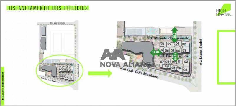 14 - Apartamento à venda Avenida Lauro Sodré,Botafogo, Rio de Janeiro - R$ 1.485.100 - NFAP21402 - 13