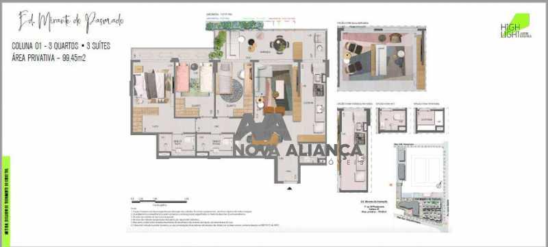 28 - Apartamento à venda Avenida Lauro Sodré,Botafogo, Rio de Janeiro - R$ 1.485.100 - NFAP21402 - 27