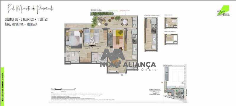 29 - Apartamento à venda Avenida Lauro Sodré,Botafogo, Rio de Janeiro - R$ 1.485.100 - NFAP21402 - 28