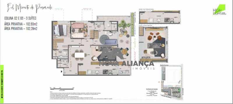 30 - Apartamento à venda Avenida Lauro Sodré,Botafogo, Rio de Janeiro - R$ 1.485.100 - NFAP21402 - 29