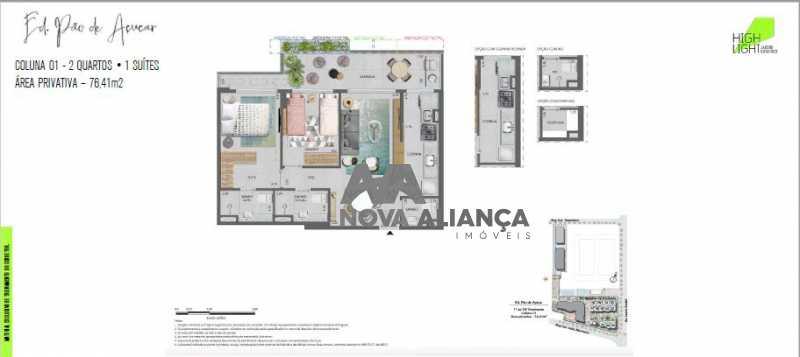 31 - Apartamento à venda Avenida Lauro Sodré,Botafogo, Rio de Janeiro - R$ 1.485.100 - NFAP21402 - 30