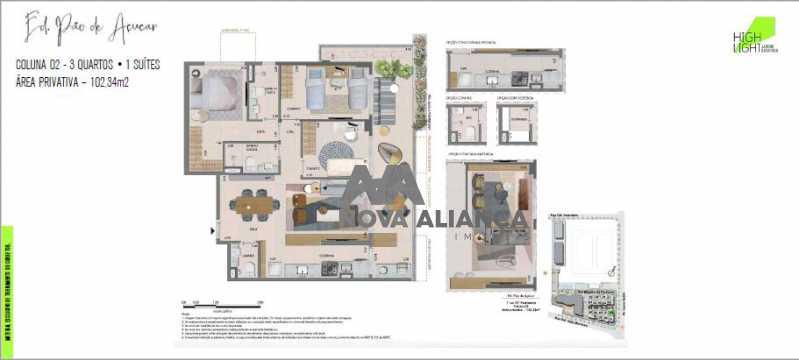 32 - Apartamento à venda Avenida Lauro Sodré,Botafogo, Rio de Janeiro - R$ 1.485.100 - NFAP21402 - 31