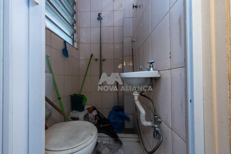 banheiro de serviço - Apartamento à venda Avenida Maracanã,Tijuca, Rio de Janeiro - R$ 595.000 - NTAP30894 - 26