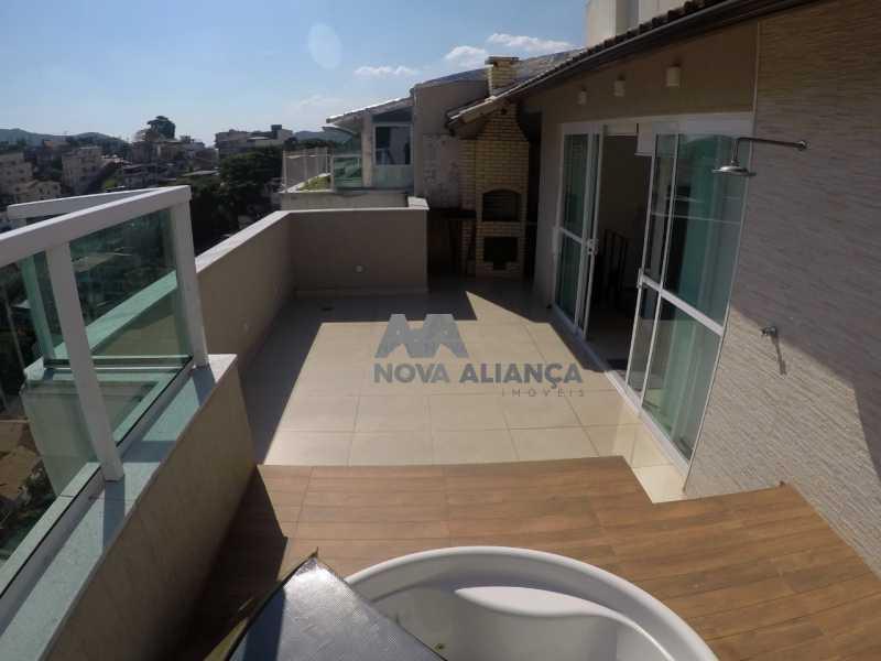 7620a29f-2a55-401e-8109-31ec71 - Cobertura à venda Rua General Espírito Santo Cardoso,Tijuca, Rio de Janeiro - R$ 990.000 - NBCO20064 - 12