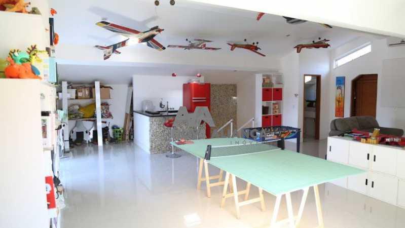 FI4A2203 - Casa em Condomínio à venda Avenida Ailton Henrique da Costa,Recreio dos Bandeirantes, Rio de Janeiro - R$ 4.500.000 - NICN80002 - 5