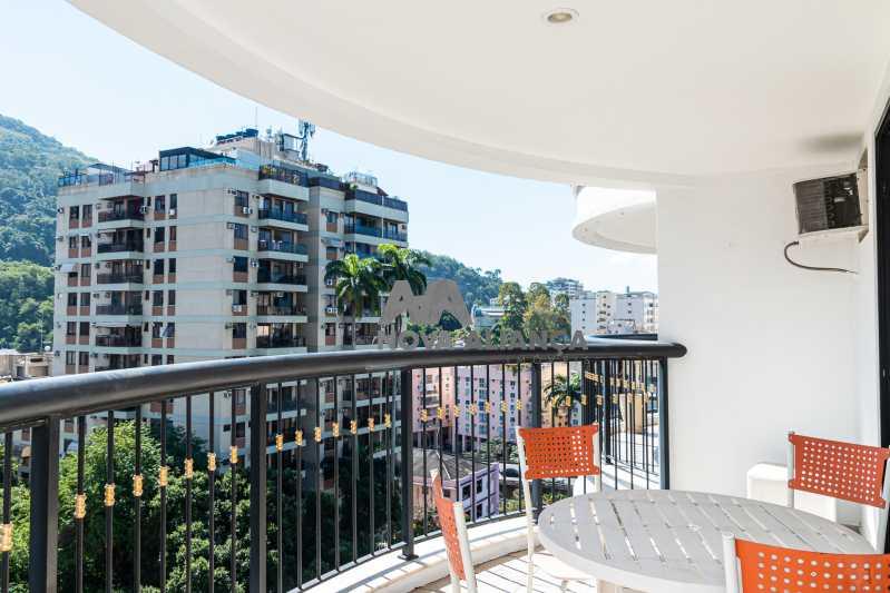 IMG_0164 - Flat à venda Rua das Laranjeiras,Laranjeiras, Rio de Janeiro - R$ 598.000 - NFFL10008 - 1