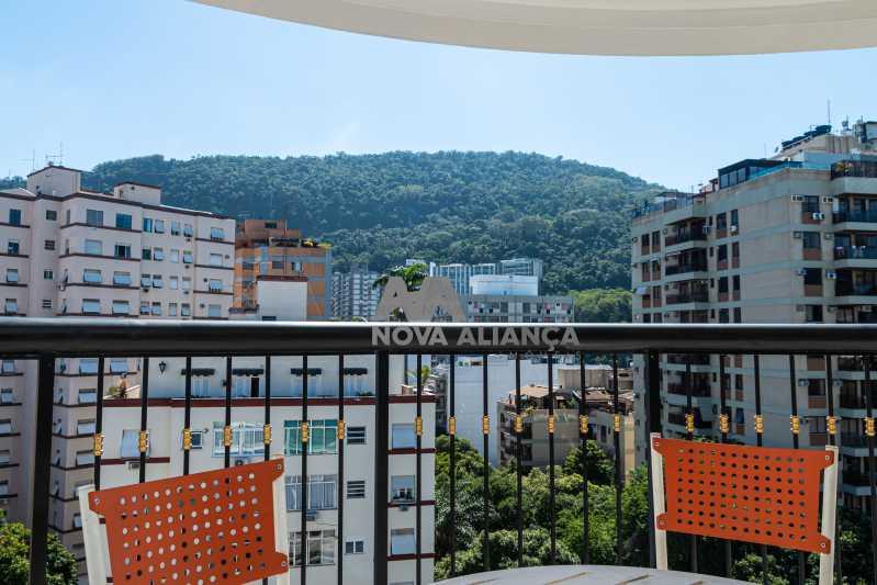 IMG_0165 - Flat à venda Rua das Laranjeiras,Laranjeiras, Rio de Janeiro - R$ 598.000 - NFFL10008 - 4