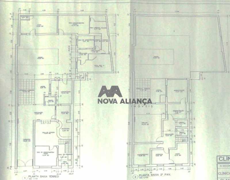 planta1 - Casa Comercial 300m² à venda Rua Visconde de Silva,Humaitá, Rio de Janeiro - R$ 3.000.000 - NICC100001 - 10