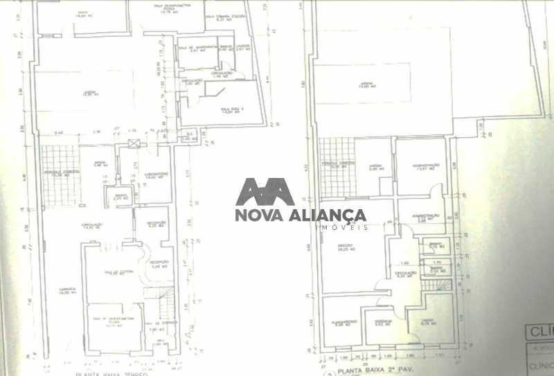 planta2 - Casa Comercial 300m² à venda Rua Visconde de Silva,Humaitá, Rio de Janeiro - R$ 3.000.000 - NICC100001 - 11