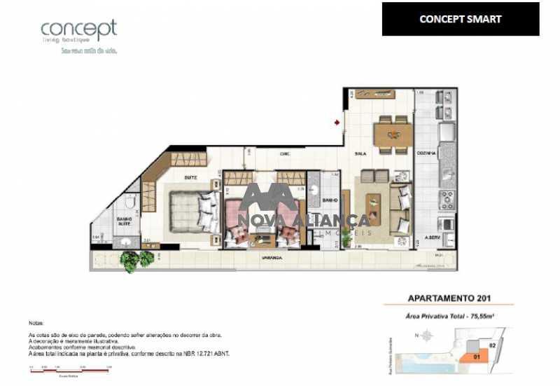 5b046770912b4 - Apartamento à venda Rua Pinheiro Guimarães,Botafogo, Rio de Janeiro - R$ 1.670.700 - NBAP31799 - 20