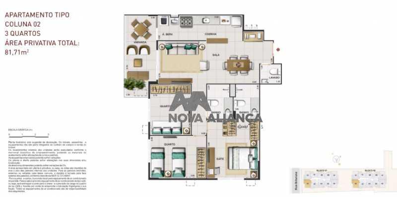 2 - Apartamento à venda Rua Ibituruna,Maracanã, Rio de Janeiro - R$ 873.100 - NTAP21271 - 14