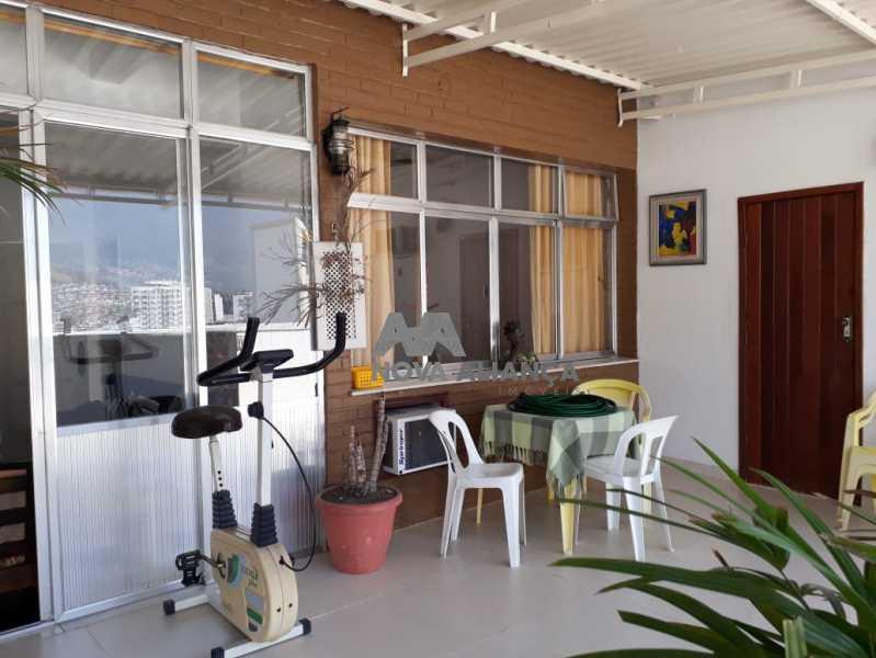 f4705680-4b8e-4e4b-9dfd-65cf85 - Cobertura à venda Rua Barão de Mesquita,Grajaú, Rio de Janeiro - R$ 650.000 - NTCO20047 - 1
