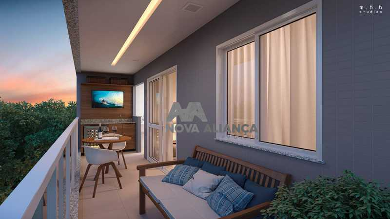 upper-grajaugaleriavaranda - Apartamento 2 quartos à venda Grajaú, Rio de Janeiro - R$ 539.800 - NTAP21412 - 1