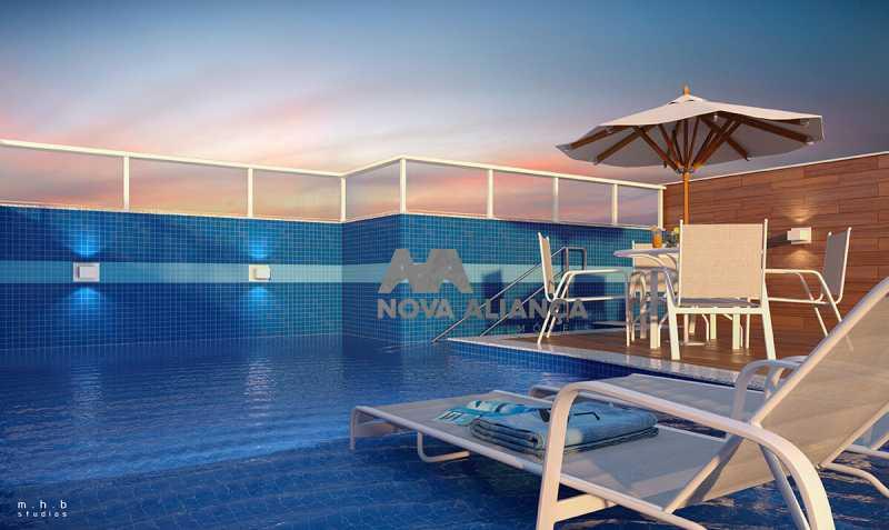 upper-grajaugaleriapiscina - Apartamento 2 quartos à venda Grajaú, Rio de Janeiro - R$ 484.300 - NTAP21417 - 7