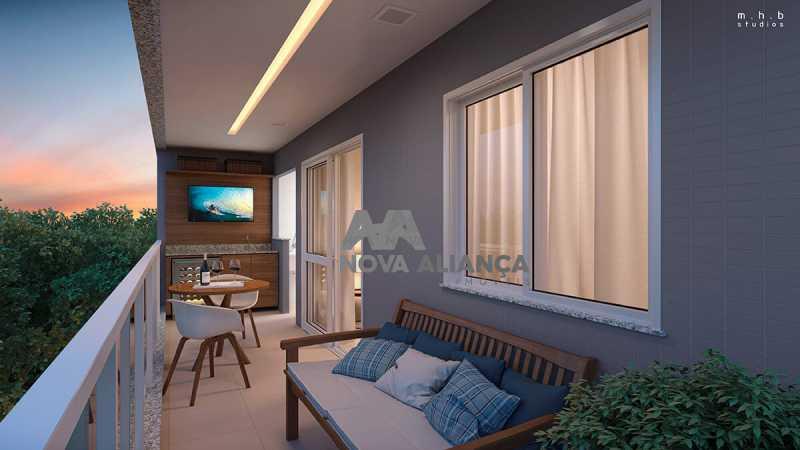 upper-grajaugaleriavaranda - Apartamento 2 quartos à venda Grajaú, Rio de Janeiro - R$ 489.300 - NTAP21418 - 1