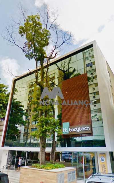 prédio2. - Sala Comercial 41m² à venda Rua Maria Angélica,Lagoa, Rio de Janeiro - R$ 980.685 - NISL00148 - 3