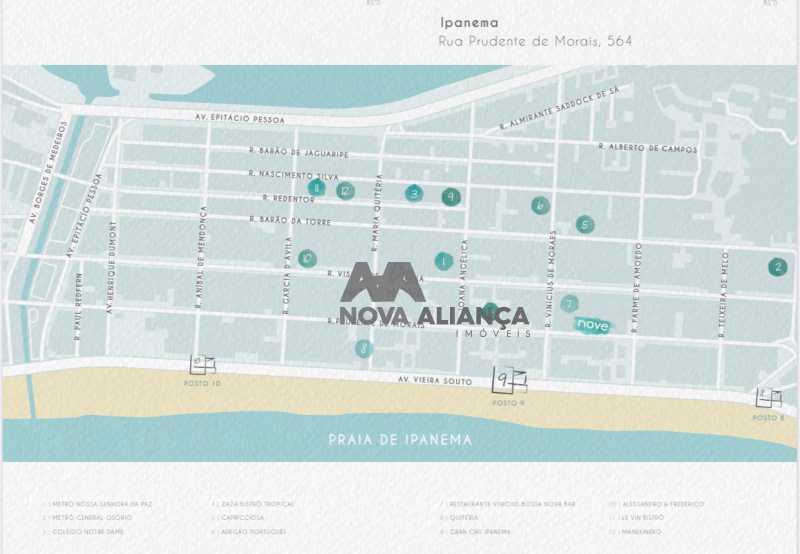 1 - Cobertura à venda Rua Prudente de Morais,Ipanema, Rio de Janeiro - R$ 3.620.439 - NICO20075 - 3