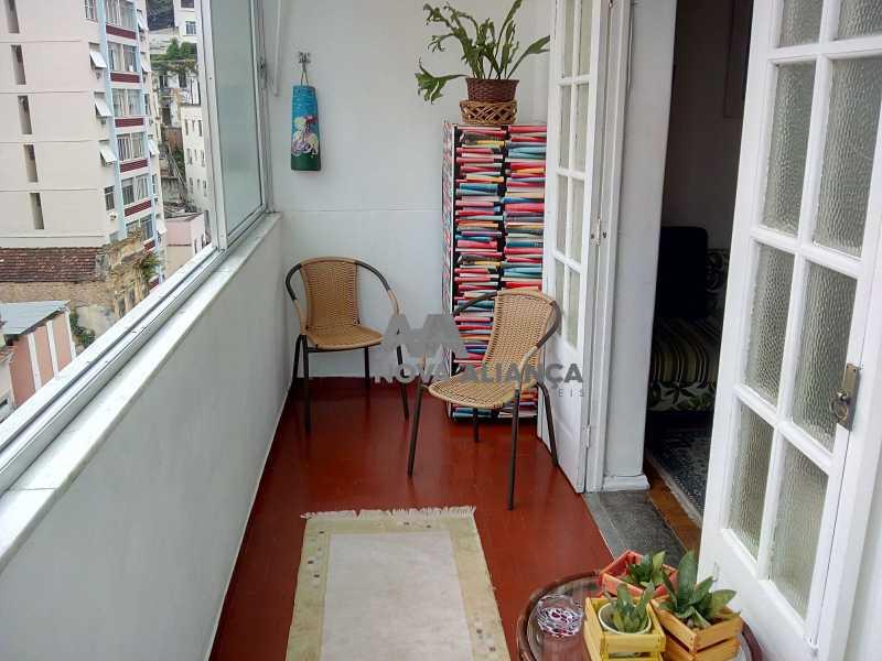 Sala Quarto - Glória 52 - Apartamento à venda Rua Benjamim Constant,Glória, Rio de Janeiro - R$ 465.000 - NCAP10887 - 16