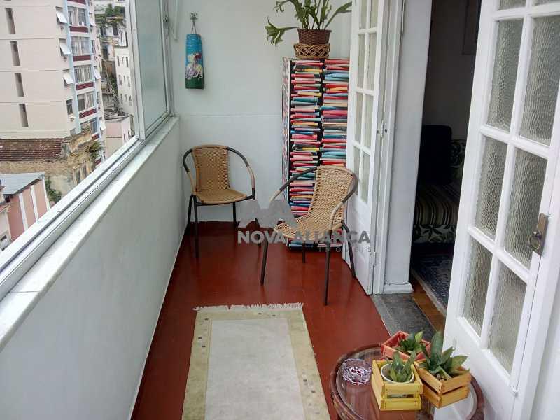 Sala Quarto - Glória 53 - Apartamento à venda Rua Benjamim Constant,Glória, Rio de Janeiro - R$ 465.000 - NCAP10887 - 17
