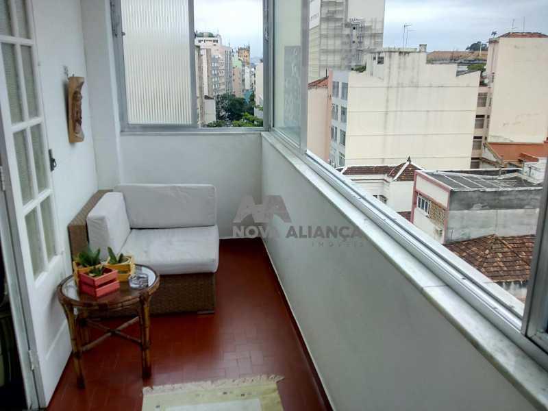 Sala Quarto - Glória 56 - Apartamento à venda Rua Benjamim Constant,Glória, Rio de Janeiro - R$ 465.000 - NCAP10887 - 18
