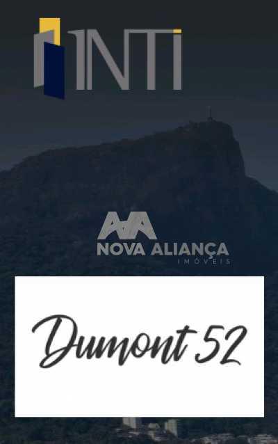 dumont52 - Cobertura à venda Praça Santos Dumont,Gávea, Rio de Janeiro - R$ 2.590.000 - NICO20079 - 1