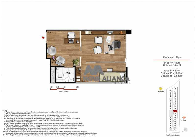 09dce786-551a-41f0-9039-15ba25 - Sala Comercial 20m² à venda Rua Almirante Baltazar,São Cristóvão, Rio de Janeiro - R$ 196.000 - NTSL00145 - 10