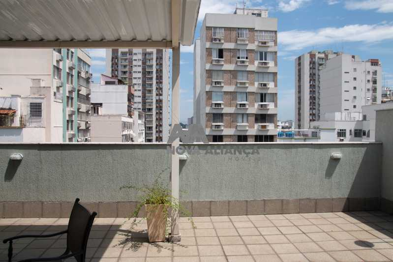 vista - Cobertura à venda Rua Doutor Satamini,Tijuca, Rio de Janeiro - R$ 1.100.000 - NTCO30119 - 8