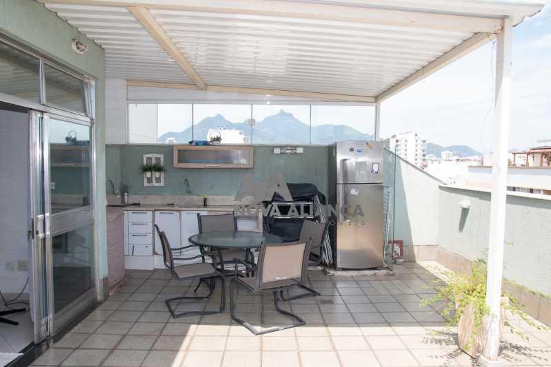 area externa - Cobertura à venda Rua Doutor Satamini,Tijuca, Rio de Janeiro - R$ 1.100.000 - NTCO30119 - 7