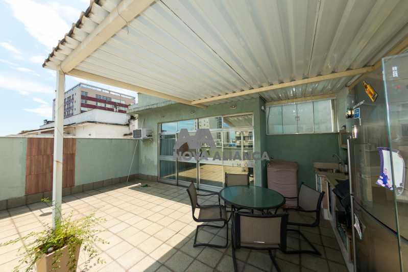 externa - Cobertura à venda Rua Doutor Satamini,Tijuca, Rio de Janeiro - R$ 1.100.000 - NTCO30119 - 6