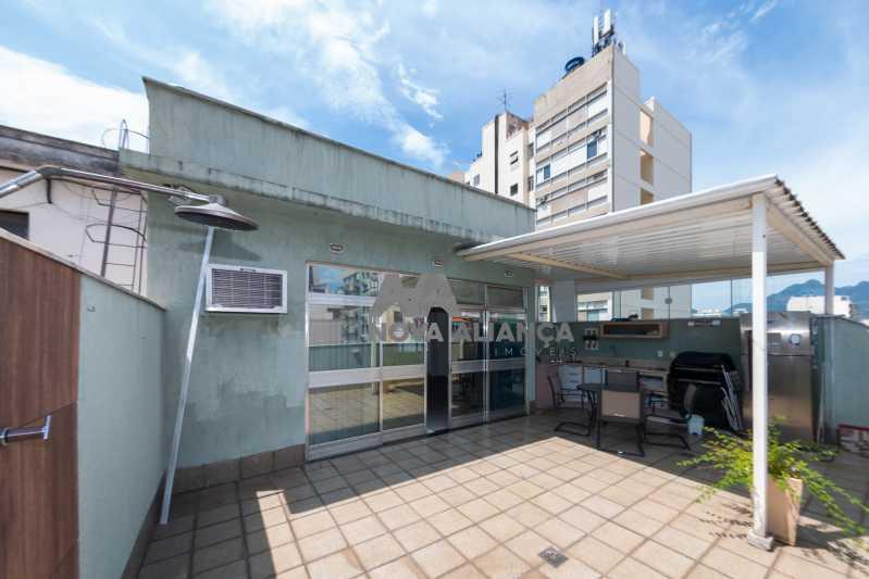 área externa - Cobertura à venda Rua Doutor Satamini,Tijuca, Rio de Janeiro - R$ 1.100.000 - NTCO30119 - 1